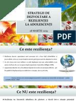 Strategii de Dezvoltare a Rezilienței