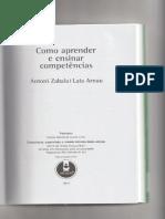 Zabala e Arnau - Avaliar competências é avaliar processos na resolução de situações-problema (cap 11)