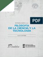Introduccion a La Filosofia de - De Vedia, Luis A