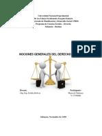 Nociones Generales del Derecho Mercantil