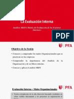 Sesión 5.1 PE - La Evaluación Interna - Análisis MEFI