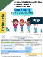 1°y 2° Primaria EF Semana 13-LEF Antonio Preza