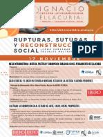 Catedra Latinoamericana Ignacio Ellacuría 2020
