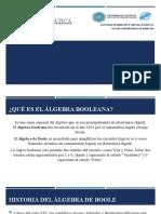 Logica  Algebra de boole.pptx