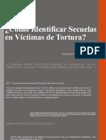 Cómo Identificar Secuelas en Víctimas de Tortura CONGRESO