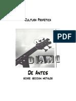 De Antes - score and parts