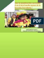 Como abordar la planificación curricular intercultural en el