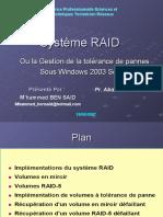 raid logiciel sous windowsl