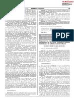 Modifican formato e instructivo de la Ficha Catastral Urbana Individual y de la Ficha Catastral Rural