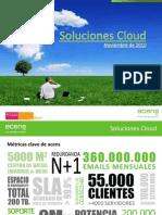 Ponencia Cloud Computing y Cloud Hosting Acens