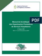 Manual de Acreditacao das Org. Prestadoras de Serv. Hospitalares