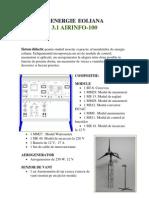 Energie Eoliana Fisa Air Info 100 Ro