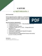 Kit Fisa Eoliana 1 Ro