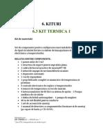 Kit Fisa Termica 1 Ro