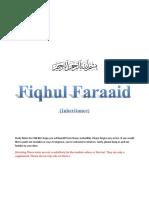 FQH 302 NOTES (Inheritance & Retribution)
