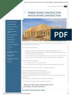 Timber Frame Construction _ Wood Frame Construction _ Timber Frame Homes _ Timber Buildings - Understand Building Construction