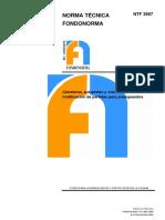 NTF 3967-2009 Carreteras Autopistas y Vias Urbanas Codificacion de Partidas Para Presupuestos