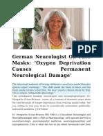 German Neurologist On Face Masks Oxygen Deprivation Causes Permanent Neurological Damage.pdf