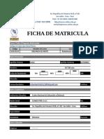 FICHA DE ESTUDIANTE VICTOR ALA CALLE