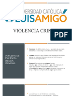 Violencia Criminal