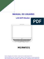 AOC - Monitor - M19W531