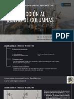 Introducción al estudio de Columnas