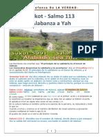Salmo 113 - Alabanza a Yah - Sukot