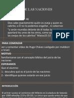 LECCIÓN 9 EL JUICIO DE LAS NACIONES