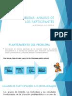 ANÁLISIS DE LOS PARTICIPANTES