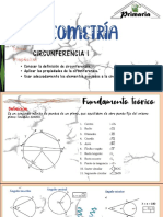 GEOMETRIA - Rectas tangentes secantes en circunferencia