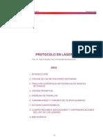 protocolo en laser