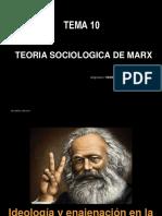 TEMA 10 la teoria sociologica de Marx
