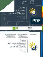 Datos Antropometricos para el Diseño-UIS cap 1