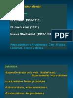 2 Vanguardias -2018 -Expresionismo