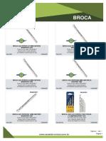 Catálogo Ferramenta Chaves e Brocas