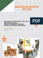 MEDICIÓN DE ARCHIVOS NTC 5029 (1)
