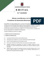 Ordem de Trabalhos e documentação - 5ª Sessão Extraordinária de 2020 (16/11/2020) - Assembleia Municipal do Seixal