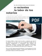 A PROPÓSITO DEL DÍA INTERNACIONAL DEL NOTARIADO
