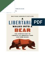 Un libertario se mete en un oso