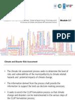 Module 3 Mainstreaming Framework Jan29 2014 LR