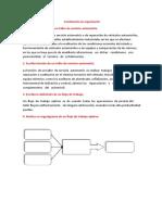 Cuestionario de organización
