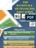 1. Rationale in Financing Education