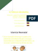 ICTERICIA NEONATAL PRESENTACION