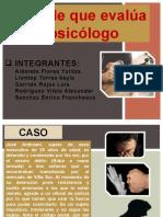VARIABLE QUE EVALUA EL PSICOLOGO FORENSE