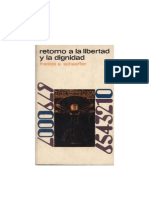 Francis Schaeffer - Retorno a la libertad y la dignidad