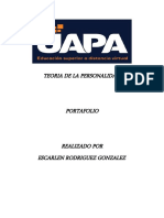 TEORIA DE LA PERSONALIDAD PORTAFOLIO