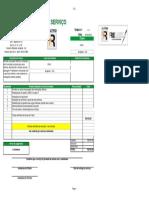 orçamento  chacara poste de iluminação - 2020 - Copia