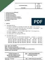 Abnt - Nbr 5456 - Eletricidade Geral - Terminologia