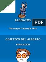 Alegatos - Giammpol Taboada