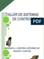 UNIDAD 4.- CONTROL INTERNO DE PASIVOS Y CAPITAL